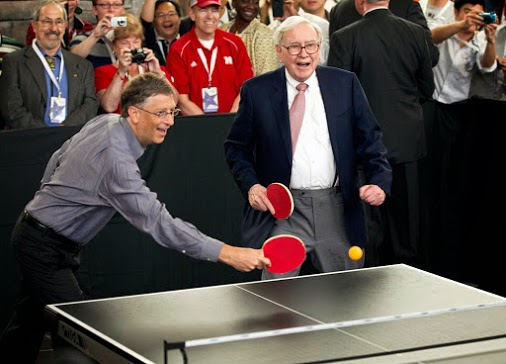 warren buffett và Bill Gates