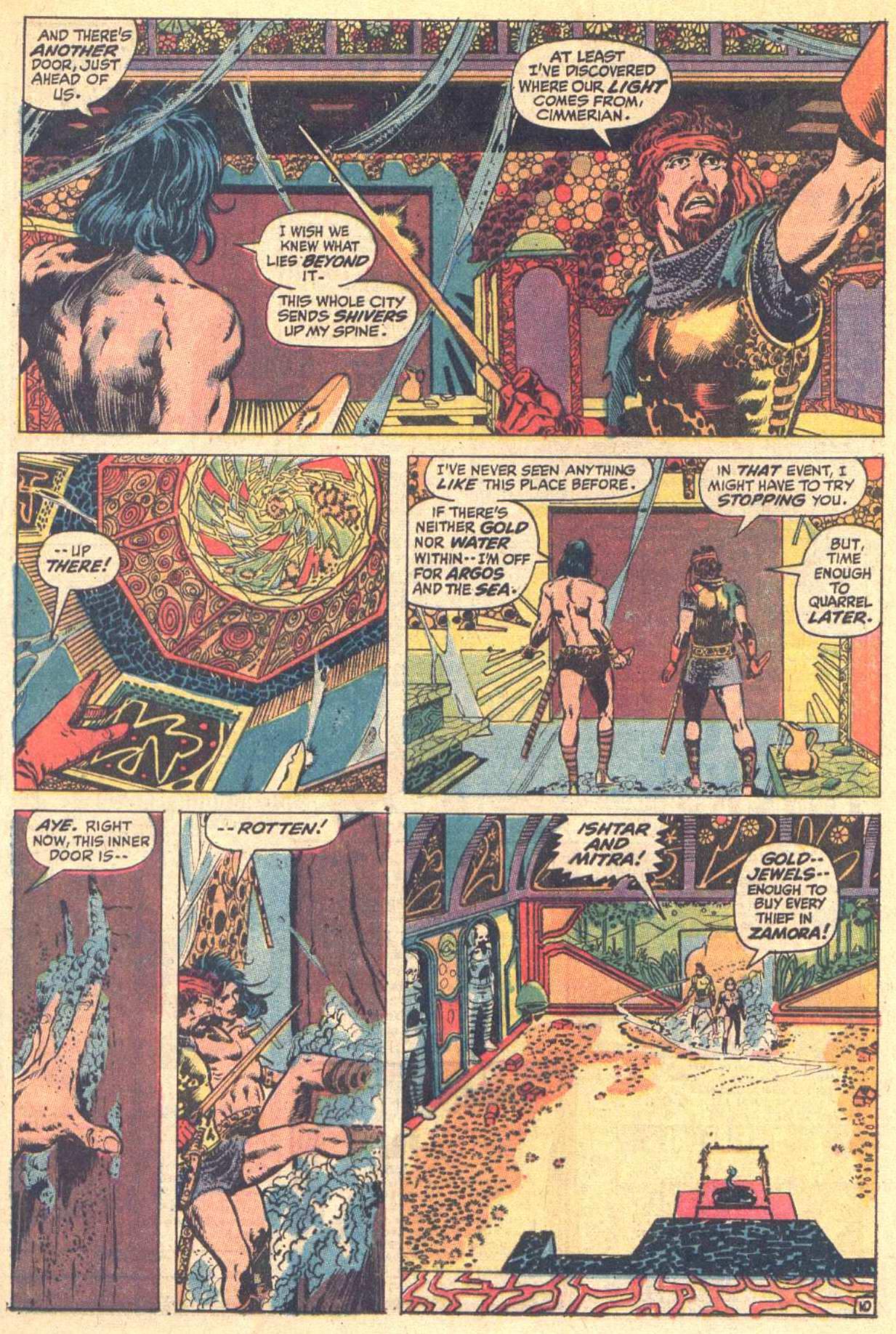 Conan the Barbarian (1970) Issue #8 #20 - English 11