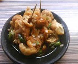 resep praktis (Mudah) membuat makanan khas Cirebon tahu gejrot enak, lezat