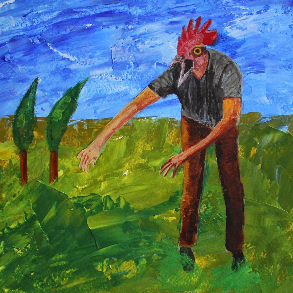 Martin Hoogeboom painting schilderij Laren