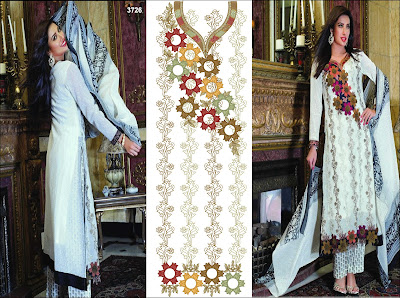 Latest Embroidery Designs For Salwar Kameez