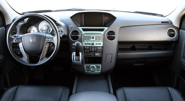 2011 honda pilot interior for Difference between honda cr v lx and ex