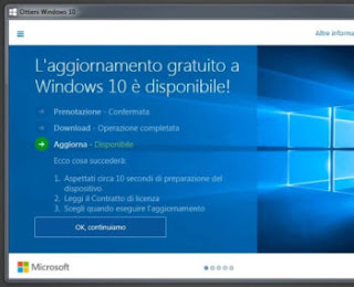 preparare il pc per windows 10