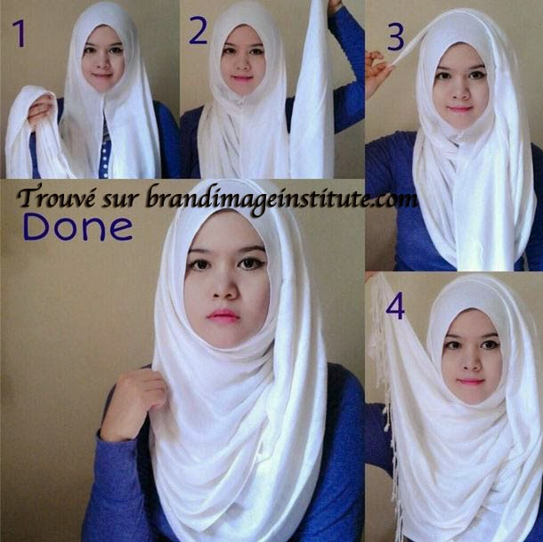 Image Easy Hijab Styles Tutorial Download