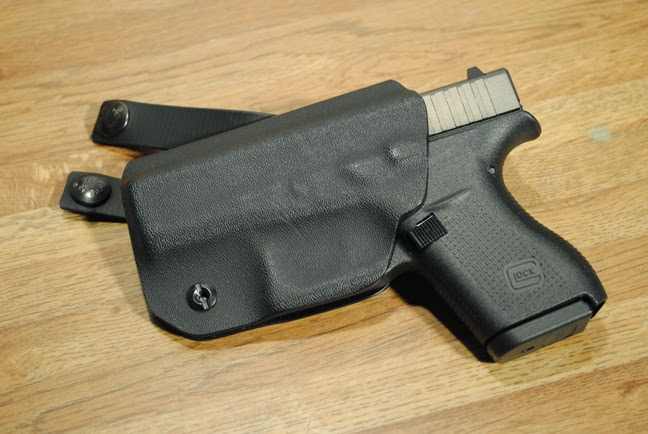 My glock 42 in Armiger solutions IWB holster