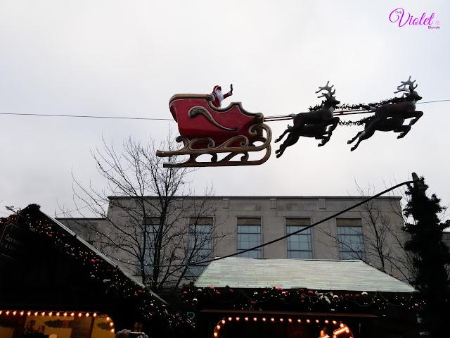 Christmas Southampton santa sleigh