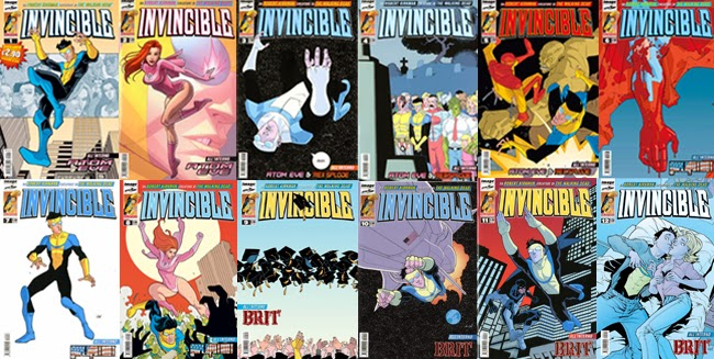 saldapress invincible covers robert kirkman copertine spillato