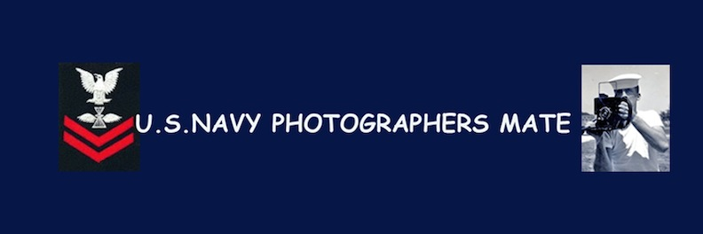 U. S. NAVY PHOTOGRAPHER