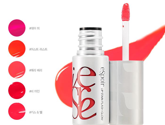eSpoir lip stain flash glow
