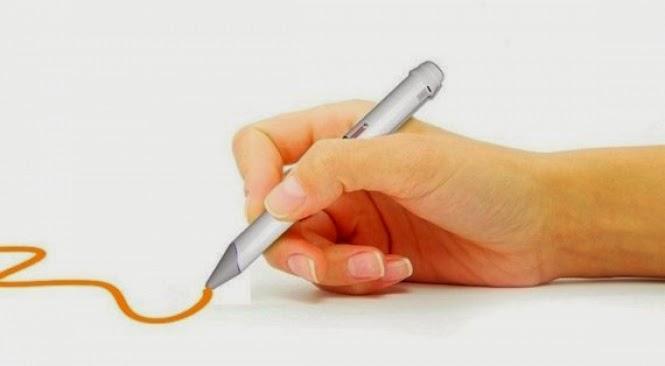 Caneta tecnológica permite que você escreva com qualquer cor
