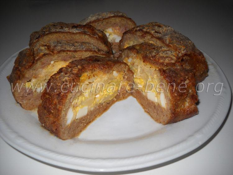 Polpettone al forno cucinare bene ricette di cucina for Cucinare wurstel al forno