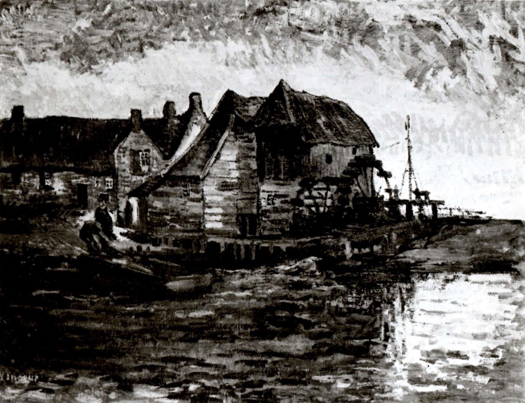Water Mill at Gennep by Vincent van Gogh (F 47, JH 526)