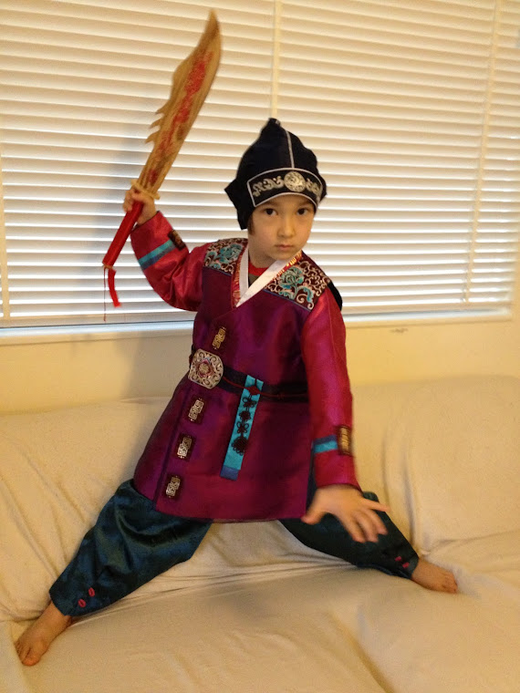 Keohi as Hong Kil Tong, Korean Robin Hood, Warrior Prince