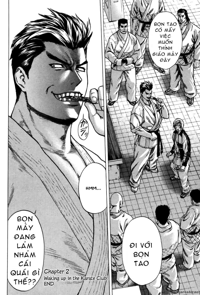 Karate Shoukoushi Kohinata Minoru chap 2 Trang 25