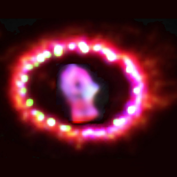 Hubble Revisits SN 1987A: Supernova Remnant Lights Up!