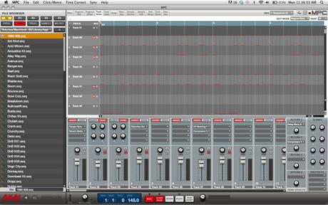 MPC Renaissance Software Mixing