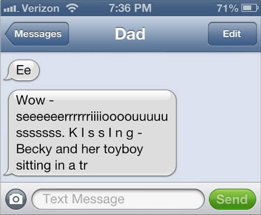 Sexually Teasing Text Messages