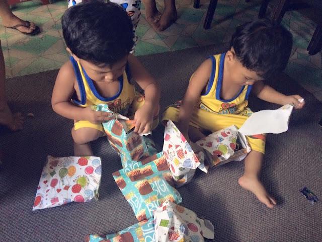 My Twins' 2nd Birthday