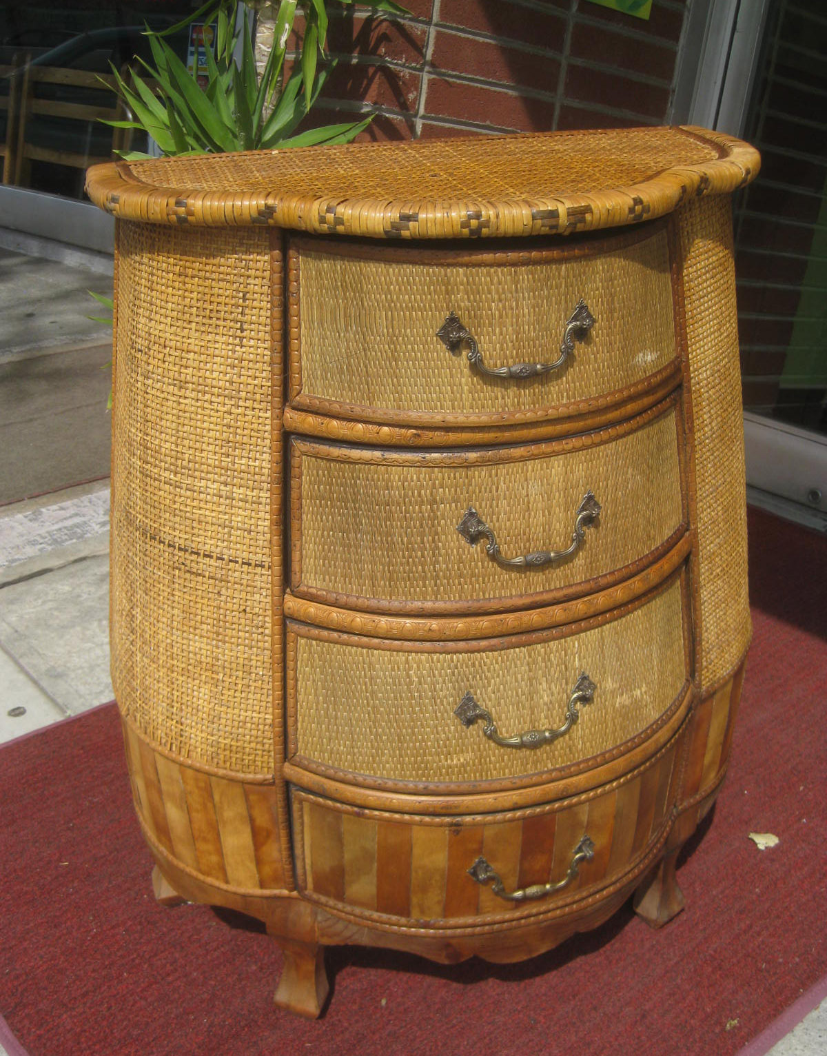 Uhuru Furniture Collectibles Sold Small Bombay Chest