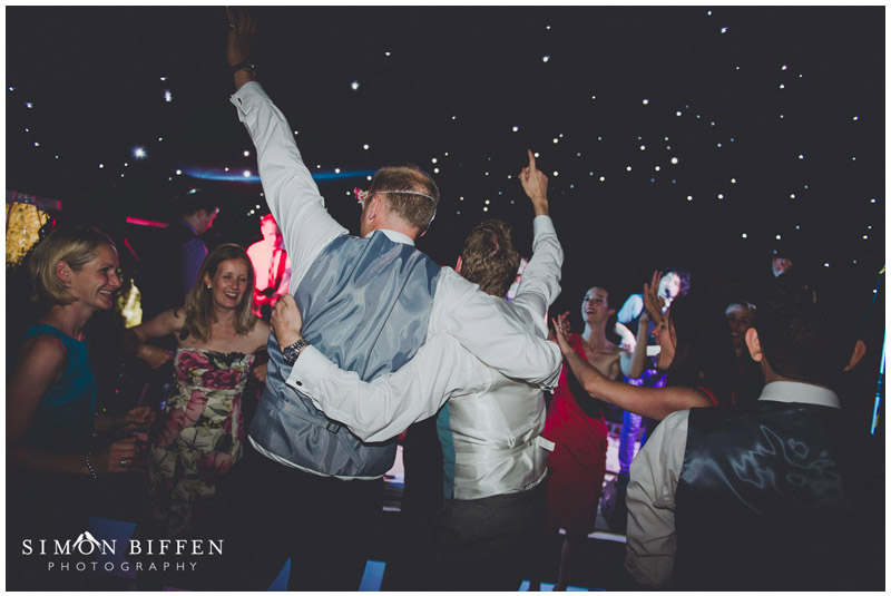 wedding dance floor action