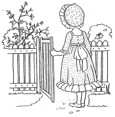 Holly Hobbie Coloring Pages Printable Free