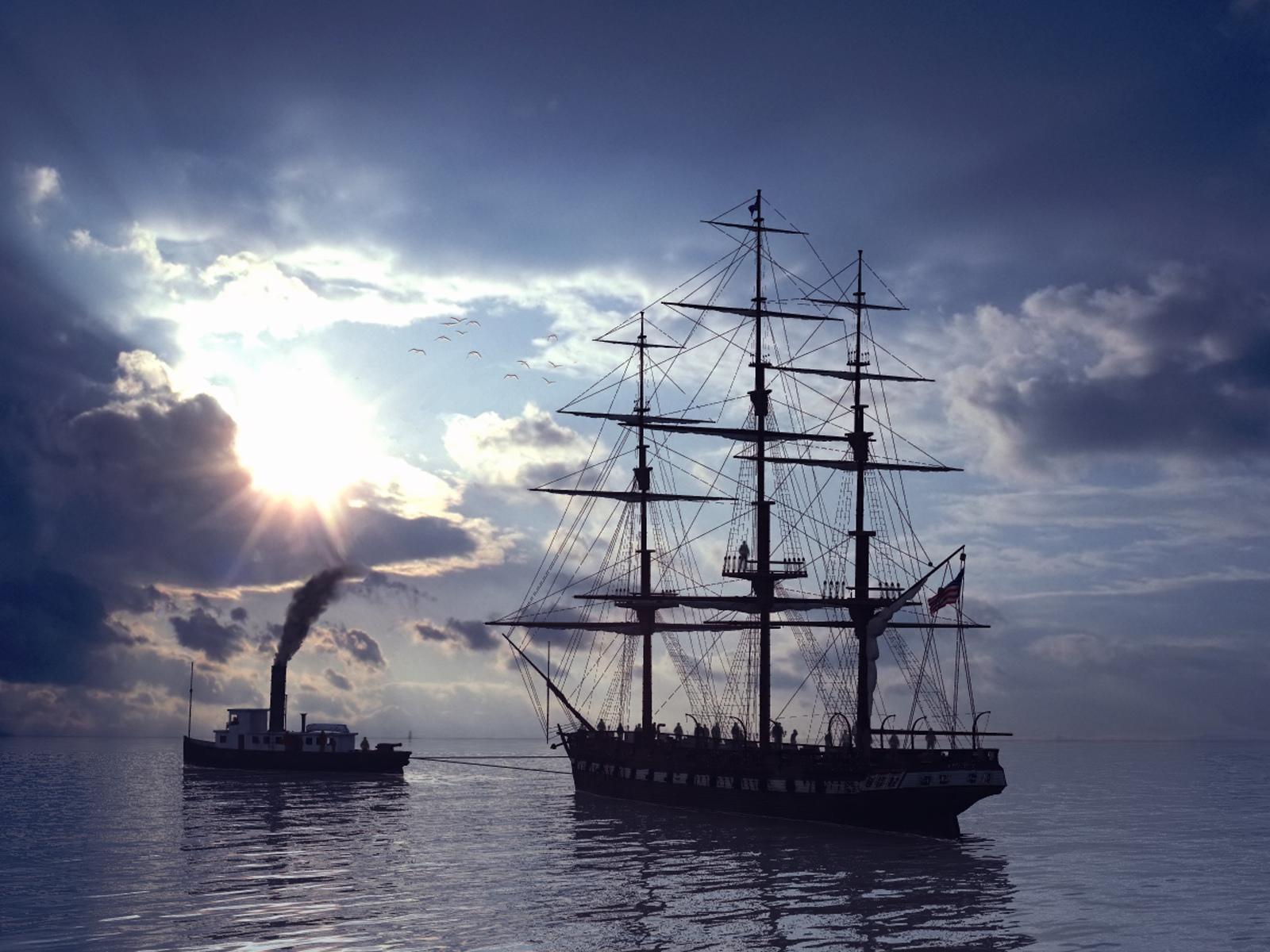 Фото парусников в высоком разрешении