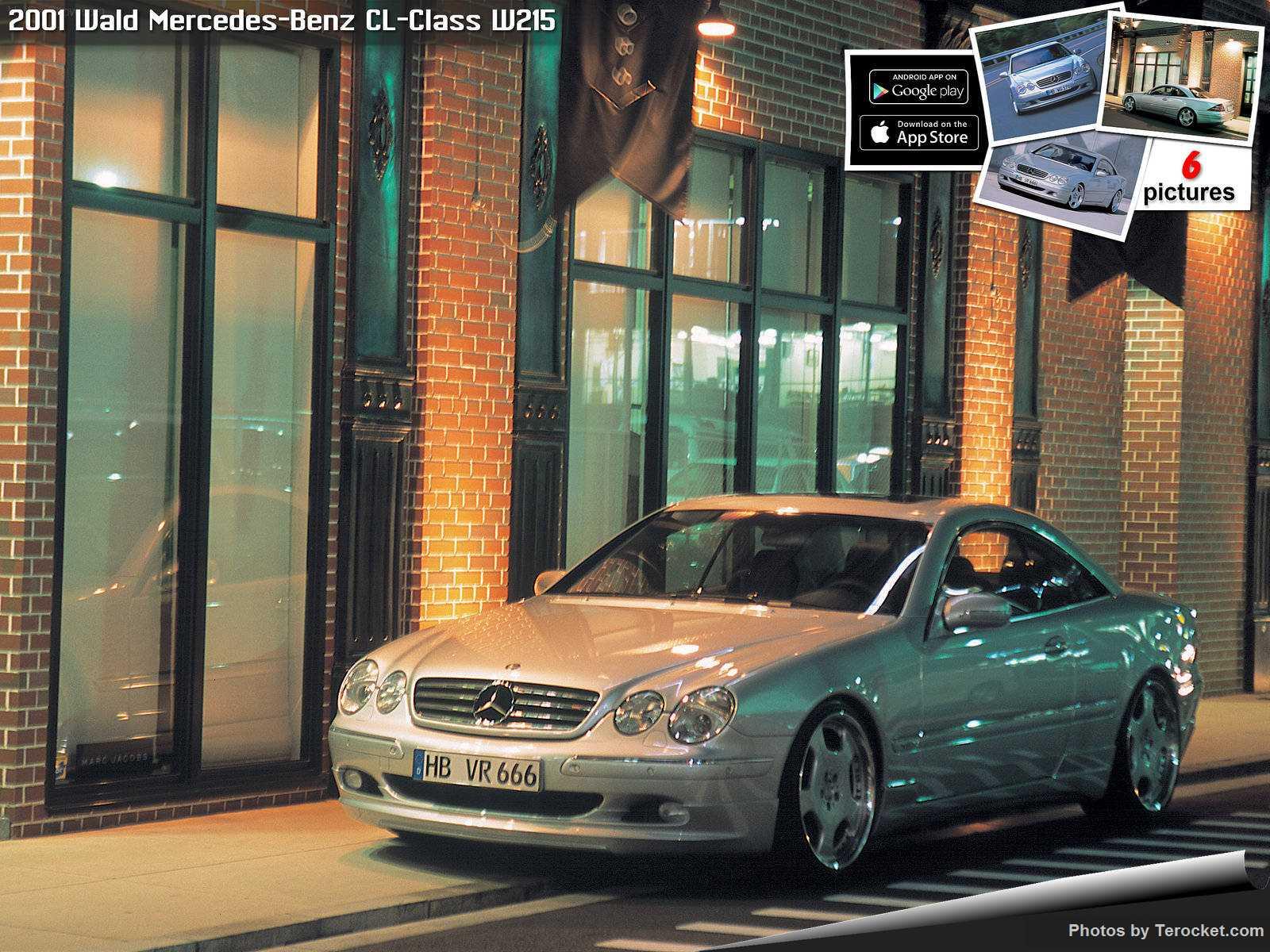 Hình ảnh xe độ Wald Mercedes-Benz CL-Class W215 2001 & nội ngoại thất