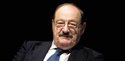 "Umberto Eco, author of the novel ""The Name of the Rose """