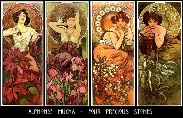 facets of creativity kickin 39 it ol 39 skool alphonse mucha. Black Bedroom Furniture Sets. Home Design Ideas