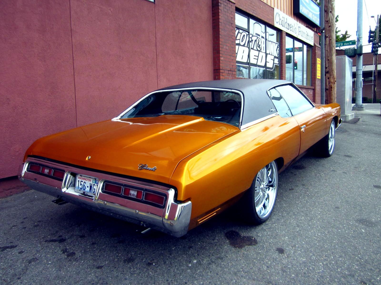 Seattle39;s Classics: 1972 Chevrolet Caprice Classic