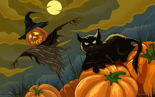 Halloween HD wallpapers - 043 cat