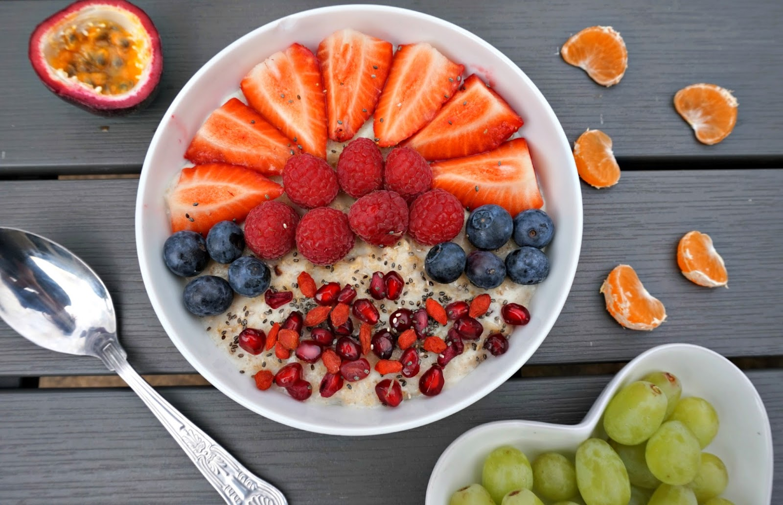 Healthy Fruit Porridge