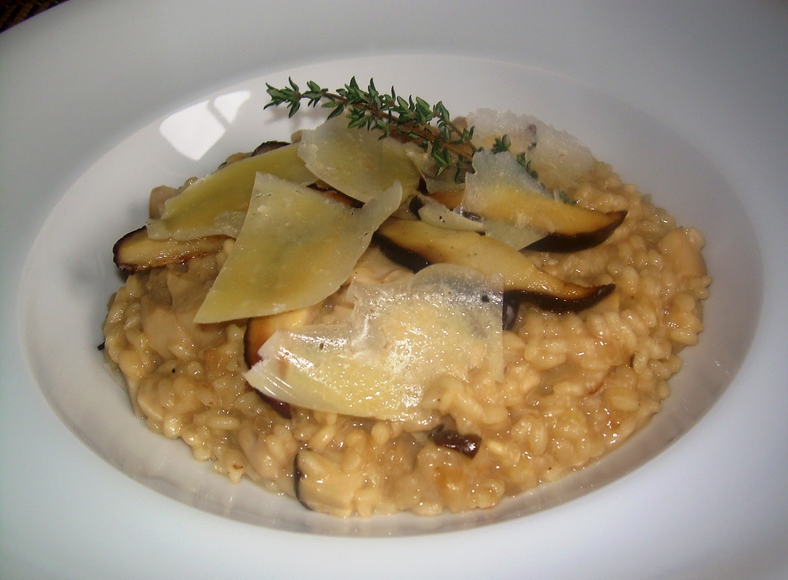 Gastronomic n risotto de ceps for Como cocinar risotto de setas
