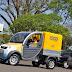 Veículo elétrico para entrega de correspondência é apresentado pelos Correios