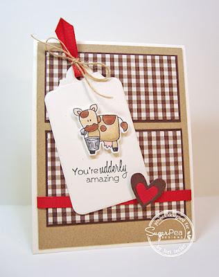 You're Udderly Amazing card-designed by Lori Tecler/Inking Aloud-stamps and dies from SugarPea Designs