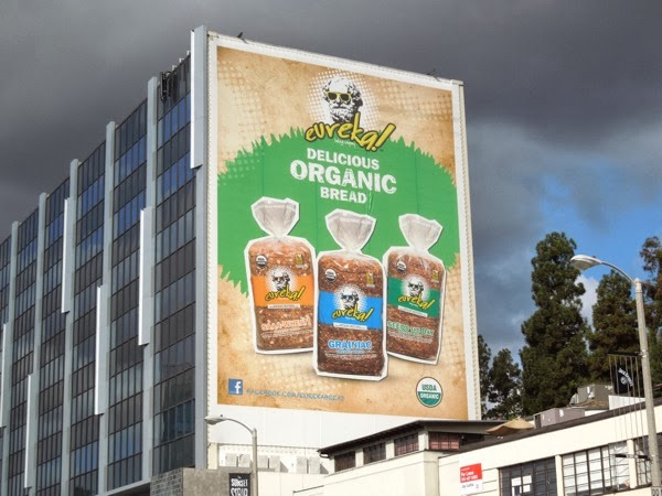 Giant Eureka Organic bread billboard