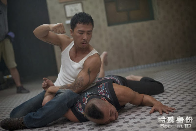 Donnie Yen BJJ in Special ID still