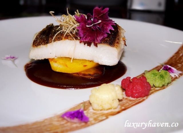 dining city singapore restaurant week latteria grilled halibut