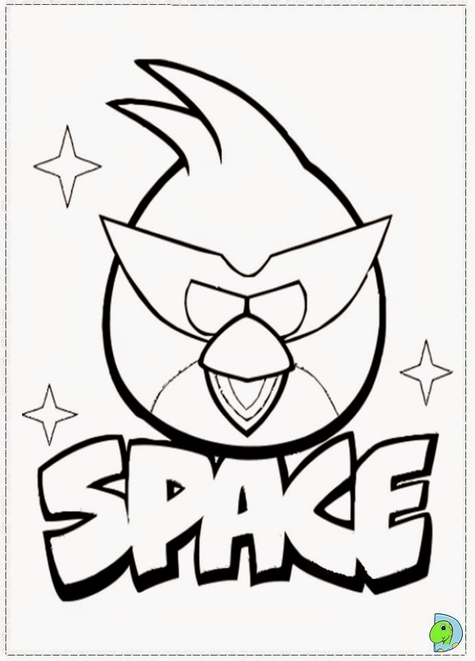 Dinokids - Desenhos para colorir: Desenhos de Angry Birds ...