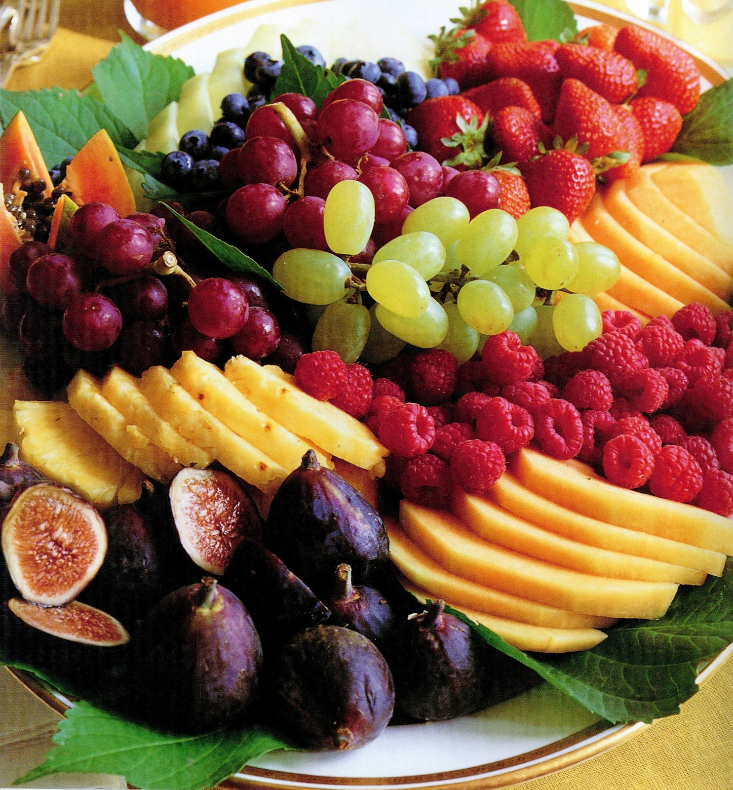 Fruit trays for parties