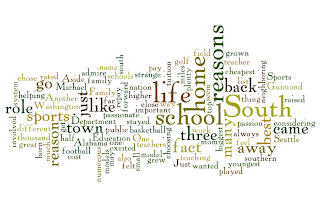 A Wordle of my post