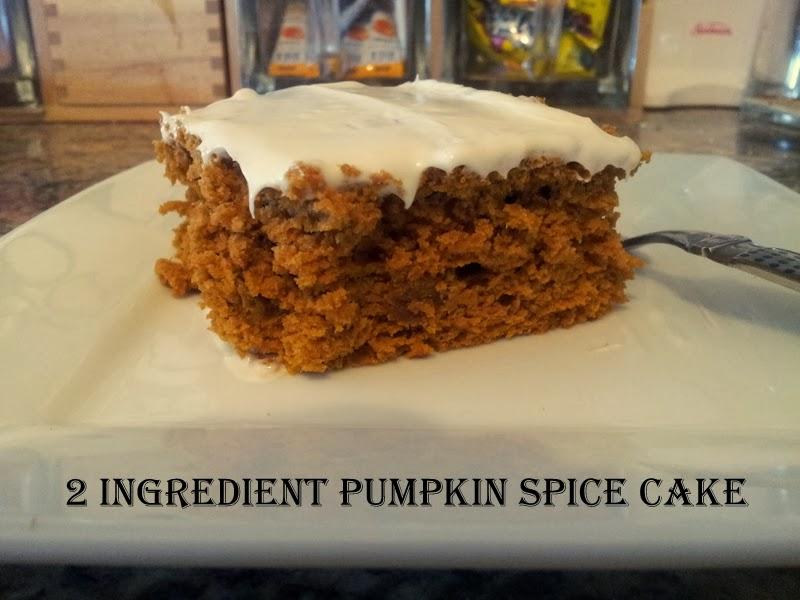2 Ingredient Pumpkin Spice Cake | BlogHer