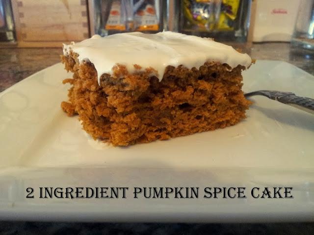 Ingredient Pumpkin Spice Cake | BlogHer
