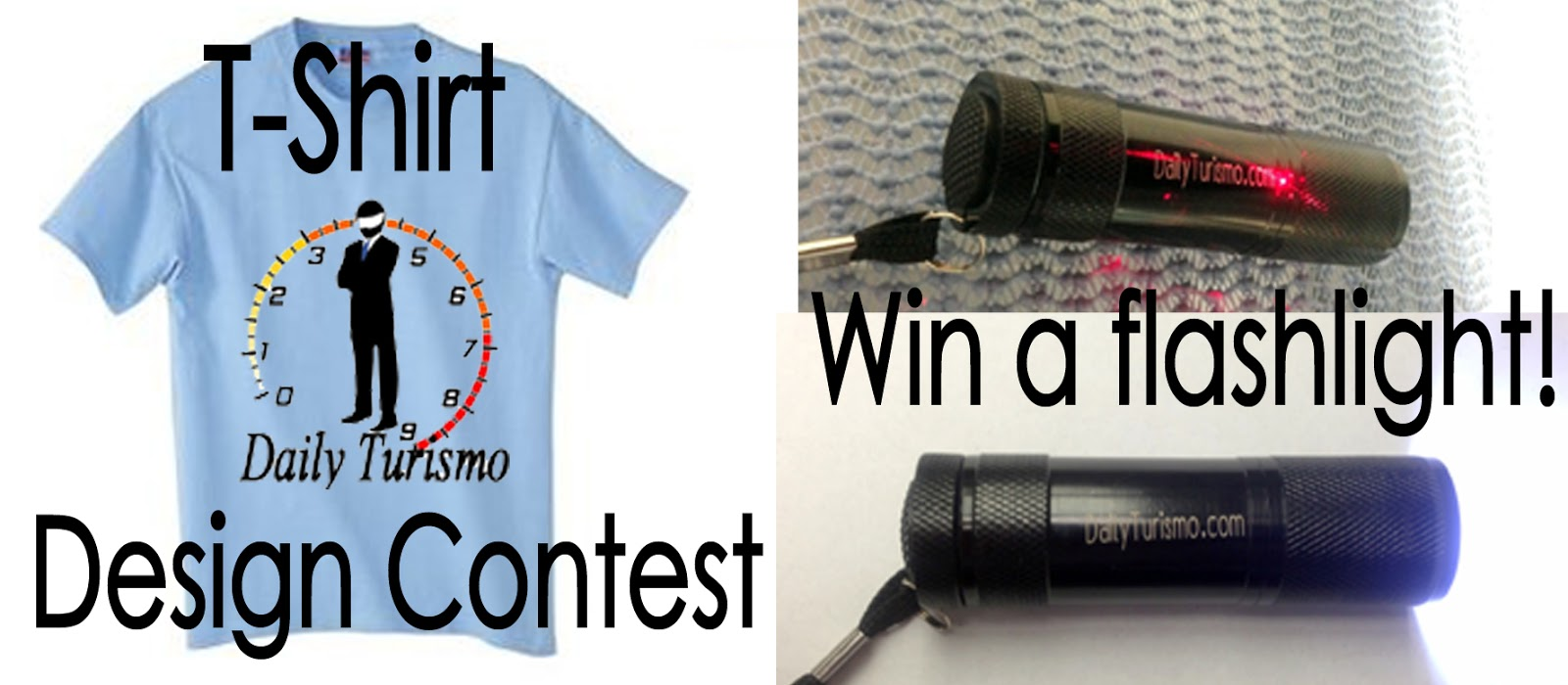 T-Shirt Design Contest: Win a Laser Etched Flashlight