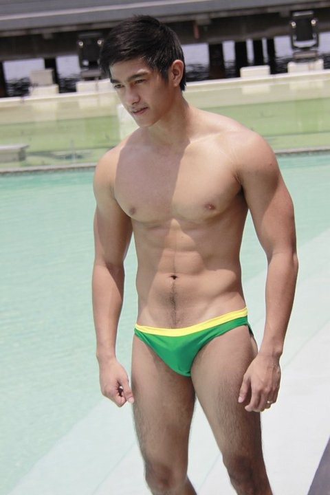 Hot asian Male model