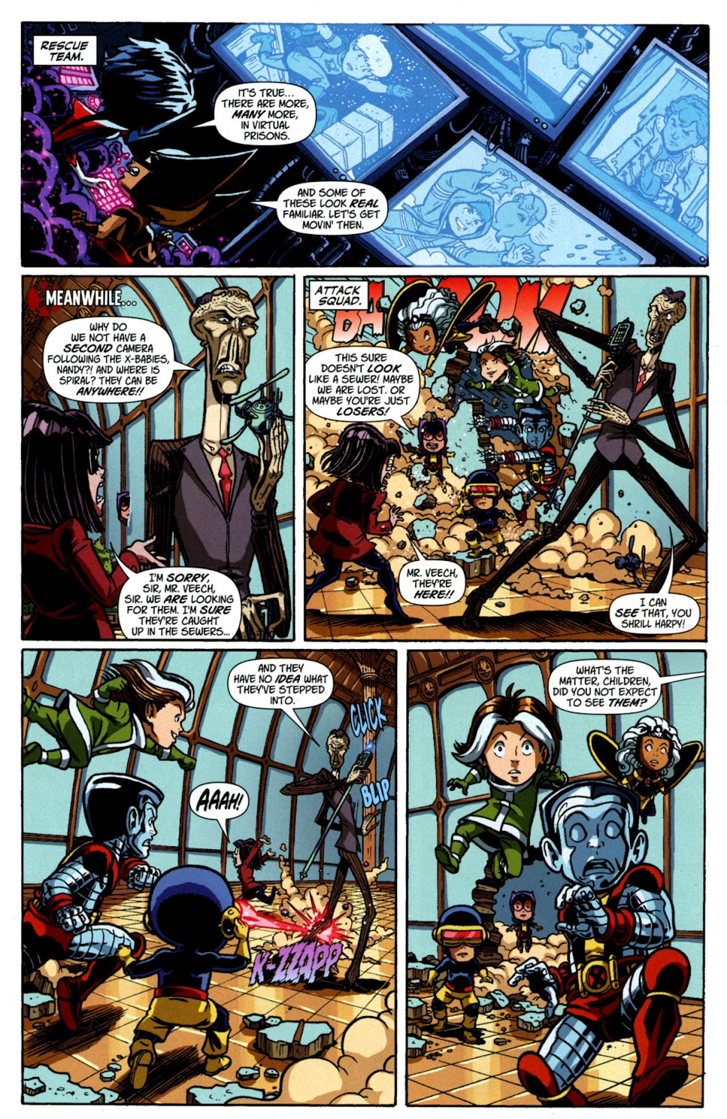 Read online X-Babies comic -  Issue #3 - 13
