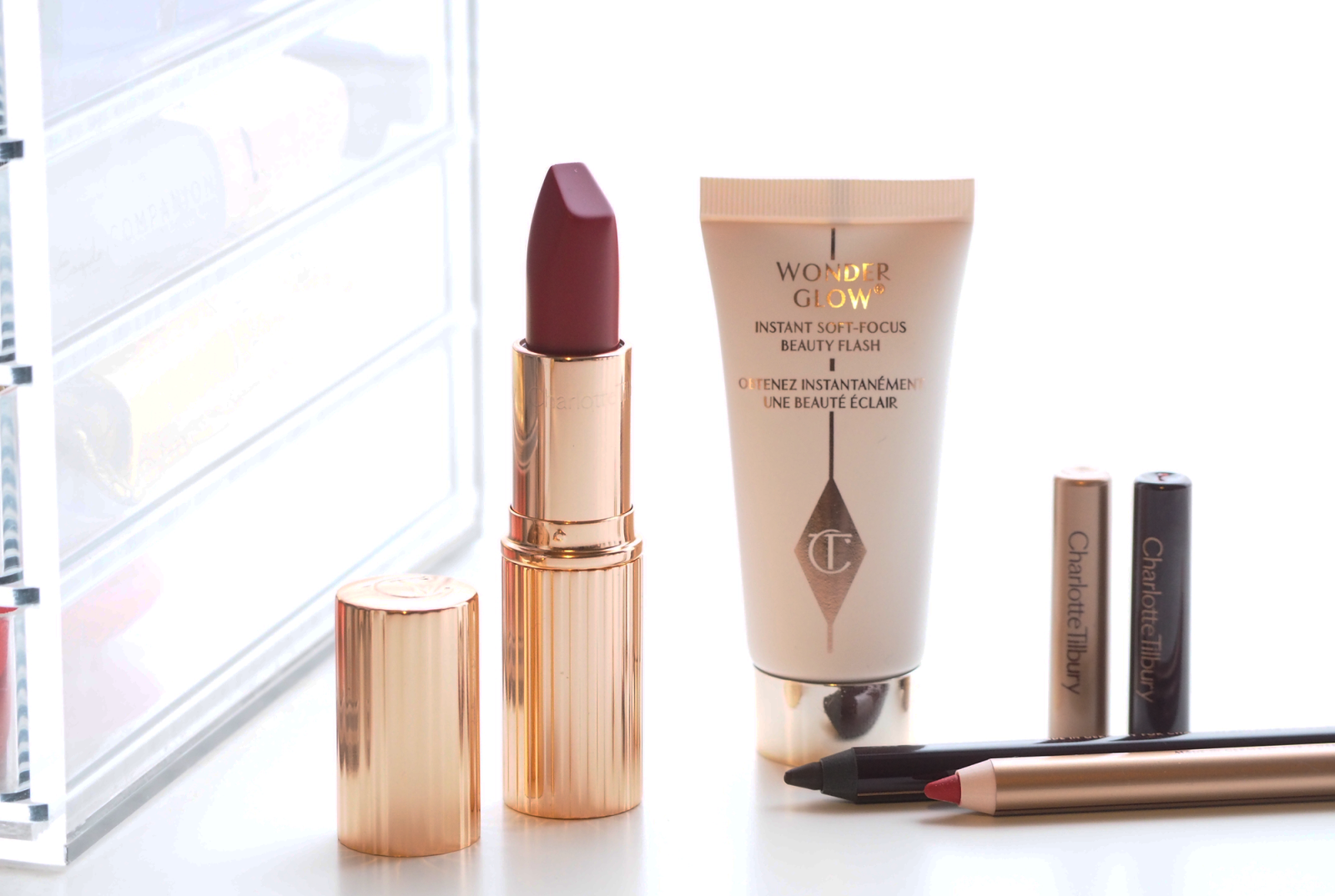 Charlotte Tilbury Quick 'N' Easy Makeup In Red Carpet Party