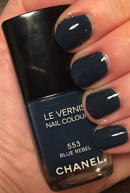Chanel, Chanel Blue Rebel, Chanel Les Jeans de Chanel Collection, Chanel Le Vernis Nail Colour, nail polish, nail lacquer, nail varnish, manicure, Mani Monday, #ManiMonday, nails