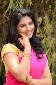 kruthika jayakumar half saree stills-thumbnail-5