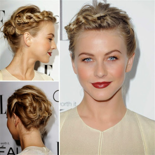Short thin hair bun